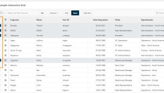 oracle apex interactive grid row selector